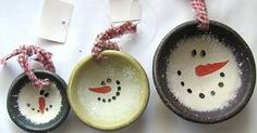 Homespun Christmas Ornaments | Primitive Country Snowman Wood Bowl Christmas Ornaments | eBay