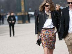 Paris Fashion Week Street Style F/W 2012, Day 1