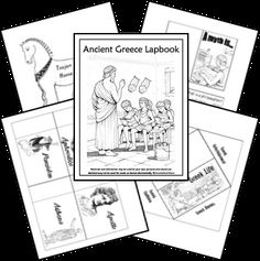FREE Ancient Greece Unit & Lapbook