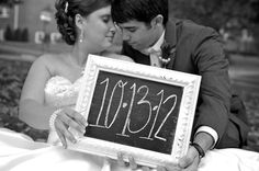 Jamie Montgomery Photography: Wedding Photography , chalk board wedding date
