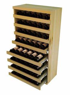 Vintner Elite Cabinetry Pull Out Wine Bottle Cradle 4 Height Wine Bottle Rack, Wine Glass Rack, Bottle Labels, Wine Bottles, Wine Shelves, Wine Storage, Storage Ideas, Best Wine Coolers, Rustic Wine Racks