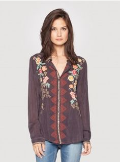 Johnny Was Clothing, Boho Fashion, Boho Chic, Vintage Inspired, Vintage Outfits, Blouse, Clothes, Shopping, Tops