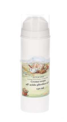 Prodotto: Crema Corpo all'Acido Glicolico 12% - 150 ml di Fitocose in Tonificanti e rigeneranti. Acquistalo ora: sconti e spedizione gratuita.