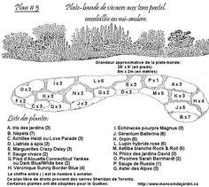 plan vivaces pastel                                                                                                                            Plus