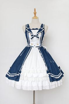 Various lolita jumper clothing in classic, gothic and sweet styles. Lolita jumper skirt, suspender skirt in different colors for women are available online. Chic Outfits, Pretty Outfits, Pretty Dresses, Beautiful Outfits, Fashion Outfits, Grunge Outfits, Fall Outfits, Style Lolita, Mode Lolita
