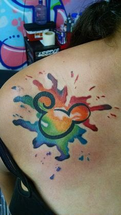 Mickey mouse tattoos are a great way to preserve the magic of the childhood presented by Walt Disney since 1928 and connect with your inner child. Cover Up Tattoos, Mini Tattoos, Body Art Tattoos, New Tattoos, Sleeve Tattoos, Cool Tattoos, Tatoos, Tattoo Art, Mickey Tattoo