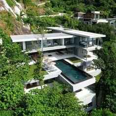 Villa Amanzi @ Phuket 値段見たら泊まるの高すぎ・・