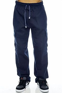 Pro Club Cargo Sweat pants 13oz Heavy Weight 6040 S5XL Medium 3234 Navy ** Want to know more, click on the image. (This is an affiliate link)