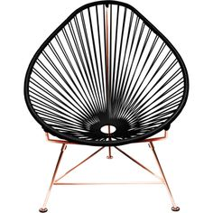ACAPULCO CHAIR with copper base