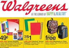 19 Items UNDER $1 at Walgreens for Back to School!