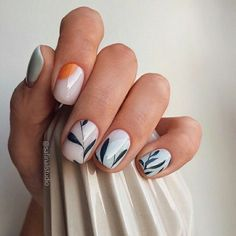White nails are the standard for girls in summer. If you like white nails, the more than 80 white nail design ideas here may surprise you this summer. Acrylic Nail Designs, Nail Art Designs, Short Nail Designs, Cute Nails, Pretty Nails, Nagel Bling, Minimalist Nails, Dream Nails, Manicure E Pedicure