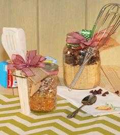 How To Make A Recipe Gift Jar | Mason Jar Gifts