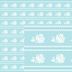Silhouette Design Store - View Design #130907: shabby chic paper collection