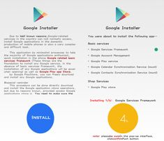 Google Installer is the best application to install Gapps / Play Store on any Xiaomi smartphone running on MIUI 7 or MIUI 8 - Download APK, how to install, features