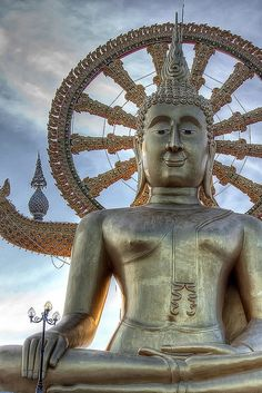 Big Buddha, Koh Samui, Thailand (by Samuizoom) http://www.classified-thailand.com/
