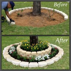 Project for leftover paver stones....