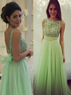 Green Prom Dress Long Party Ball Gown pst0963. Backless Homecoming  DressesSequin ... 65b52bbd6da1