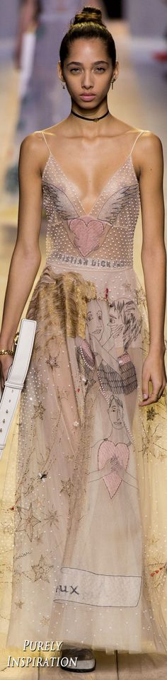 Christian Dior SS2017 Women's Fashion RTW | Purely Inspiration