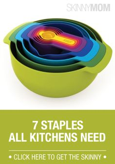 Make sure your kitchen has all these things at your fingertips.