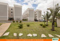 Paisagismo do Udinese. Condomínio fechado de apartamentos localizado em Uberlândia / MG.