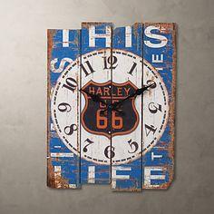現代アートなモダン キャンバスアート 壁 壁掛け 時計  壁時計 カントリースタイルの壁時計 アンティーク【納期】お取り寄せ2~3週間前後で発送予定【fs04gm】ポイント【楽天市場】