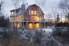Lake Superior Barn, Wisconsin | 14 unglaubliche Ferienunterkünfte, die Du tatsächlich mieten kannst