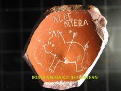 Gorriaran maiteak asmatutako euskara freskoa Iruña-Veleiako ostraka batean ageria zen jada.