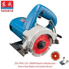 52.75$  Watch now - http://alions.worldwells.pw/go.php?t=32365932087 - 1600W Marble Cutter 110mm Tile Saw  Electric Marble Saw Electric Circular Saw 0-45 Cutting (Free 1pc Saw Blade)