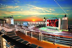 Norwegian Cruise Line - Epic Photos at Frommer's - The adults only beach club Spice on the Norwegian Epic. Norwegian Cruise Line, Norwegian Epic, Cruise Travel, Cruise Vacation, Vacation Destinations, Family Cruise, Vacation Ideas, Family Travel, Vacations