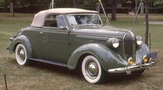 1938 Plymouth convertible