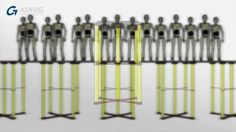 We were commissioned to produce an animation for the Smartdeck product. We produced a video with a cel shaded method to give it an technical illustrated look. The Smartdeck video features the product being tested by a crash test dummy.