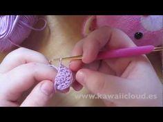 ▶ Como hacer orejas para amigurumi en semicírculo - YouTube