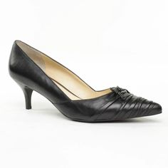 Enzo Angiolini Jubelie Pump - Black Leather