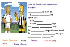 Flipcharts to use in Primary School 6 Class, Irish Language, Education Center, Primary School, Literacy, Centre, Ireland, College, Posters