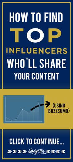 Buzzsumo Tutorial: How to find top influencers who will share your content, find the most shared articles for any keyword or website. Rock your social media & marketing and learn how to use this amazing tool today!