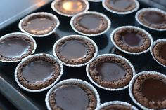 Ut med julen – in med vintern Fika, Cupcakes, Sweets, Candy, Chocolate, Eat, Desserts, Diners, Tailgate Desserts