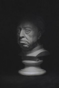 Cast Drawing in Chalk and Charcoal by Simon Mckeown