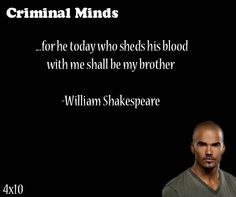Quotes From Criminal Minds   115 Best Criminal Minds Quotes Images Criminal Minds Quotes