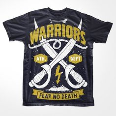 Warriors T-shirt clip art