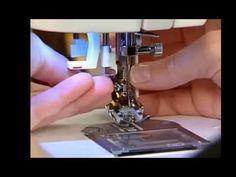 Maquina de coser : los prensatelas mas utilizados - YouTube
