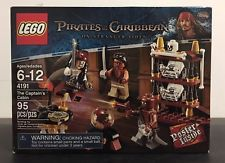 Lego Pirates Of The Caribbean The Captain's Cabin Set 4191 New Sealed