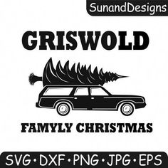 Griswold Family Christmas - digital quote and wagon queen truckster SVG, EPS, DXF, png, jpg for Silh Christmas Quotes, Christmas Svg, Christmas Shirts, Christmas Phrases, Christmas Decals, Christmas Goodies, Christmas 2019, Christmas Decorations, New Quotes