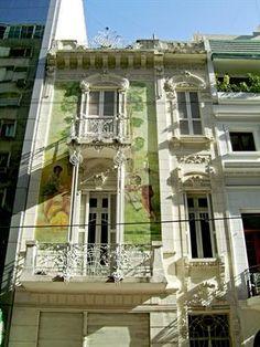 BUENOS AIRES ART NOUVEAU- Petit-Hotel de la Calle Paraguay en Buenos Aires.