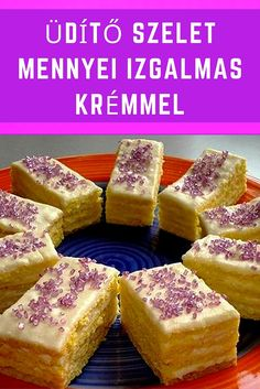 Hungarian Cake, Sausage, French Toast, Cheesecake, Good Food, Dessert Recipes, Food And Drink, Sweets, Baking
