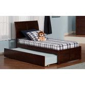 Found it at Wayfair - Urban Lifestyle Portland Panel Bed with Trundle