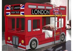 London Bus Bunk Bed :: bedsndreams.com.au