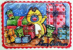 greeting card Maho yosei Perusha Merry Christmas by RosyChiovaro77.deviantart.com on @deviantART