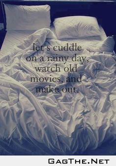Let's Cuddle on a rainy day