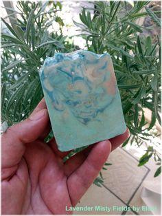 Lavender Misty Fields soap by Eleni by ElenisLittleShop on Etsy