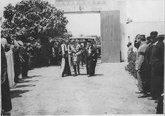 Rabat   Cour d'appel    Arrivée du général Lyautey venant installer M. Bonnet, premier président à la Cour d'appel de Rabat    1917.06.05